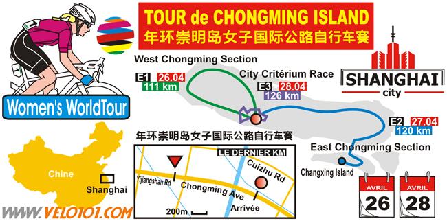 Tour de Chongming Island 2018
