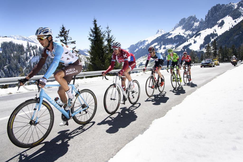 Michael Matthews, premier leader — Tour de Romandie
