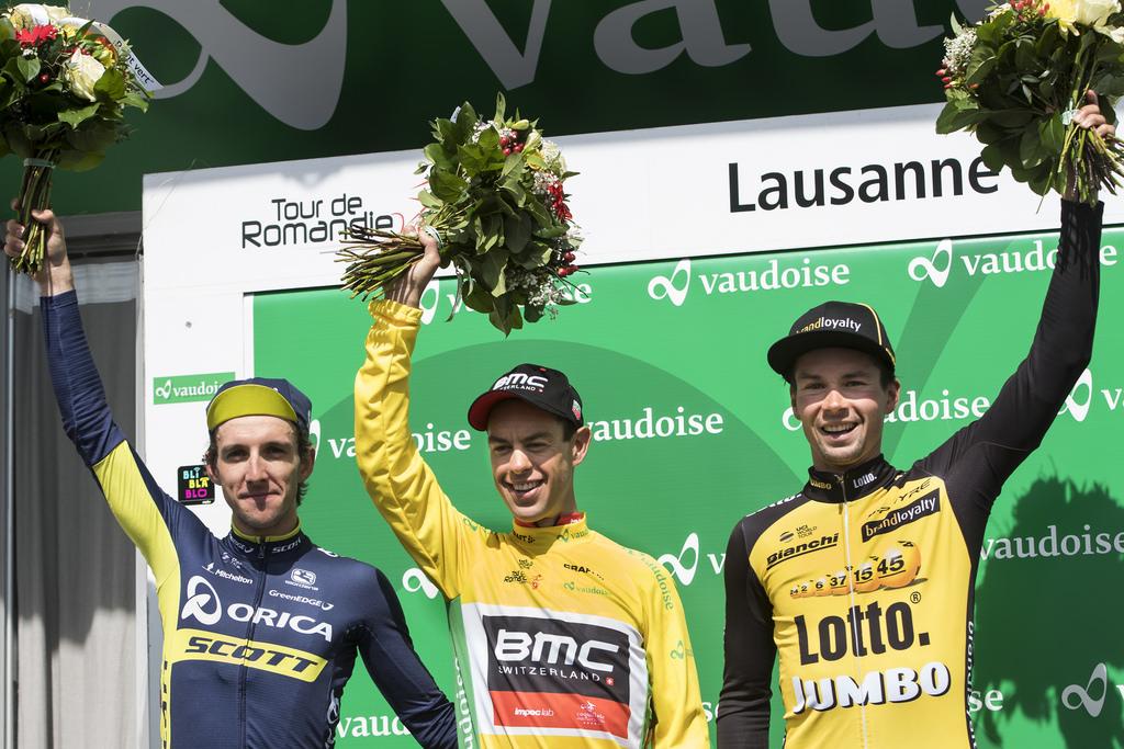 Tour de Romandie: Matthews premier leader