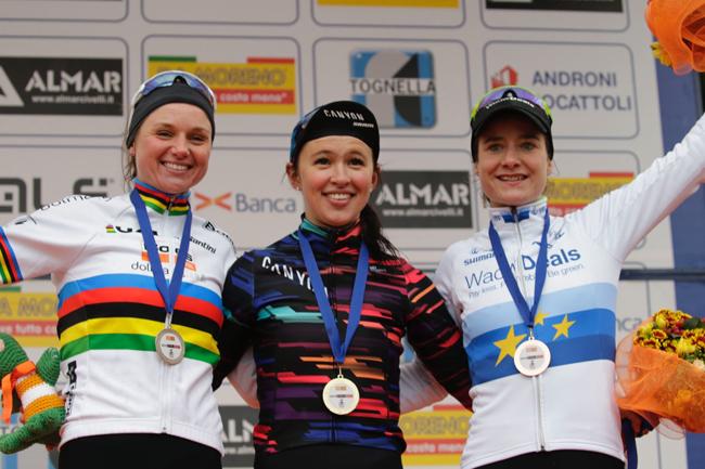 Trofeo Binda 2018, le podium