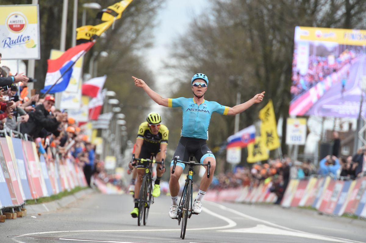 Valgren sur l'Amstel Gold Race