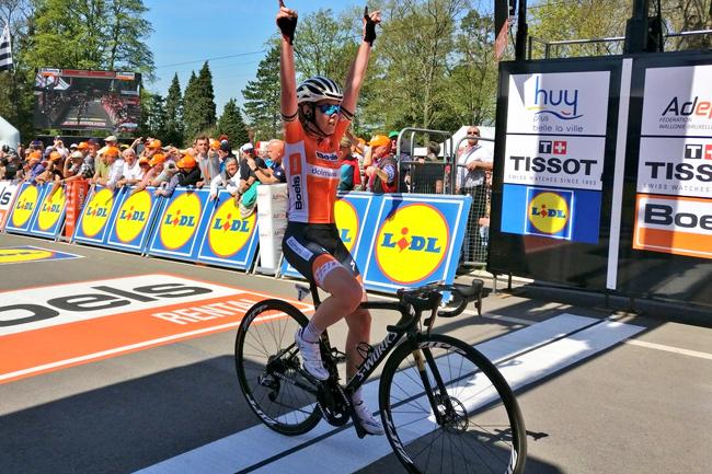 Van Der Breggen s'offre la Flèche Wallonne 2018 (sa 4ème)