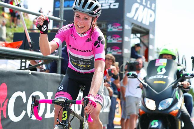Van Vleuten mate le Zoncolan sur le Giro Rosa 2018