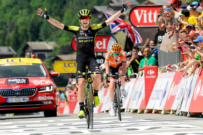 Van Vleuten remporte La Course By Le TDF 2018