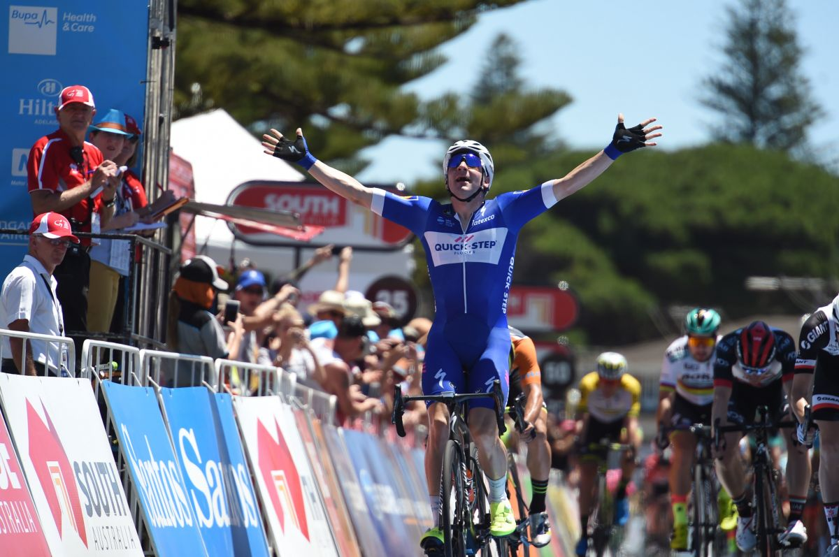 L'Allemand Bauhaus, vainqueur de la 3e étape — Tour d'Abou Dhabi