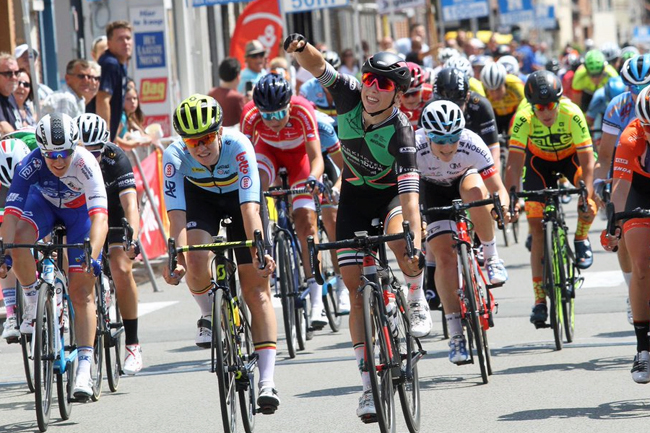 Wiebes au sprint sur l'E2 A du BeNe Ladies Tour 2018