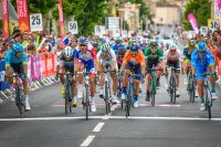 Anthony Roux Alejandro Valverde Route Occitanie