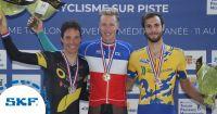 Retour sur les championnats de France sur piste Hommes