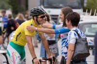 Farantakis à l'arrivée du Tour de Côte d'Or 2017