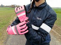 Test des gants femmes Rapha Brevet Reflective