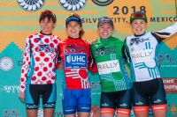 Le podium de la Gila 2018 à Tyrone