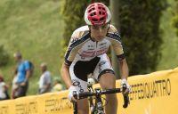 Marion Bessone, néophyte du Giro