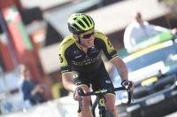 Michael Albasini sous le maillot de la Mitchelton-Scott