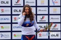 Podium Championnat d'Europe DH Femmes Juniors