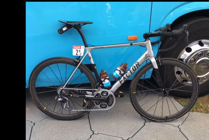 Le vélo de Romain Bardet