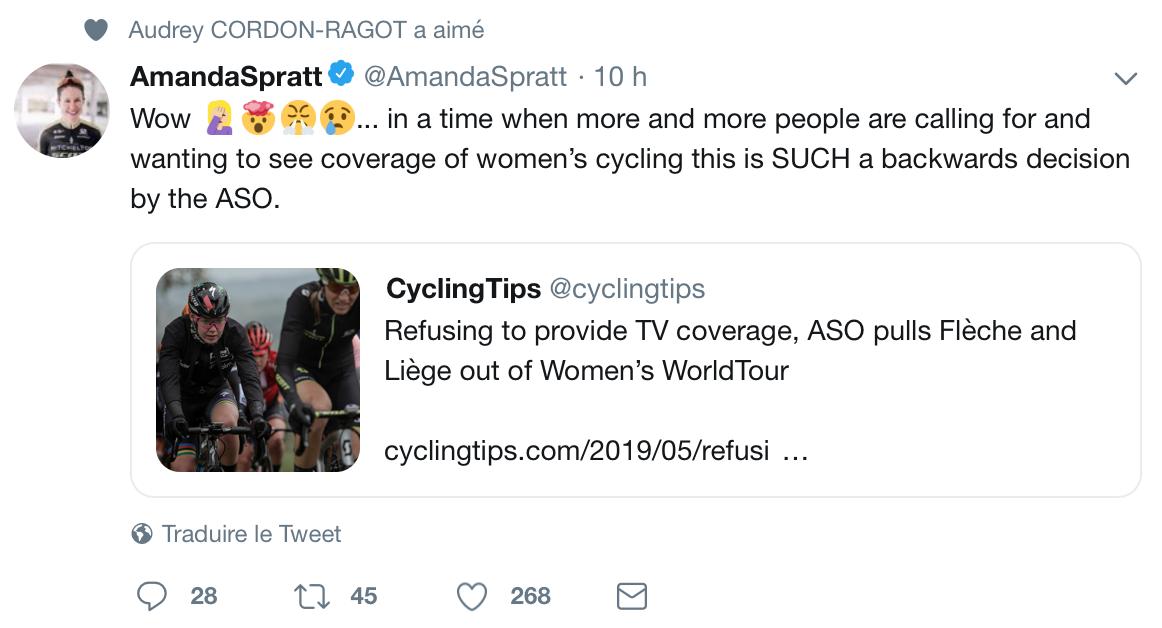 2 courses World Tour en moins