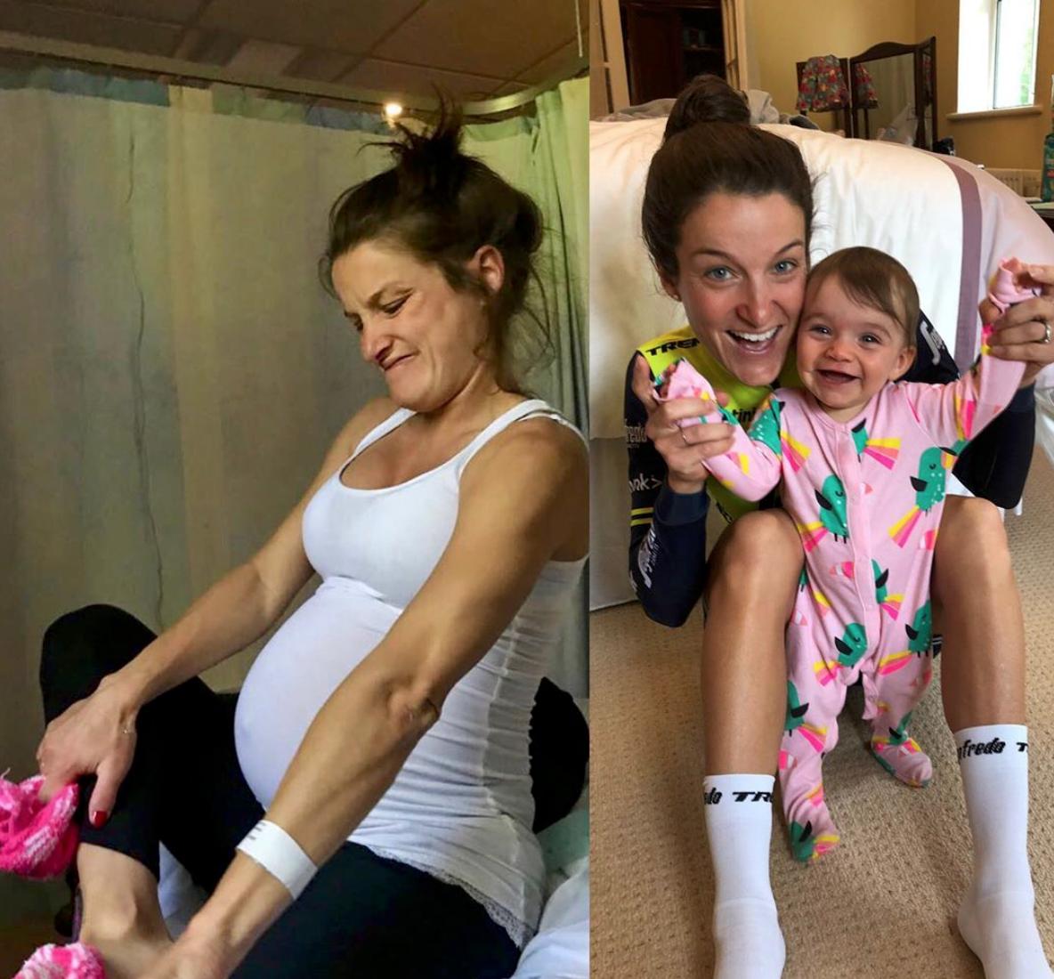 9 mois pré et post accouchement
