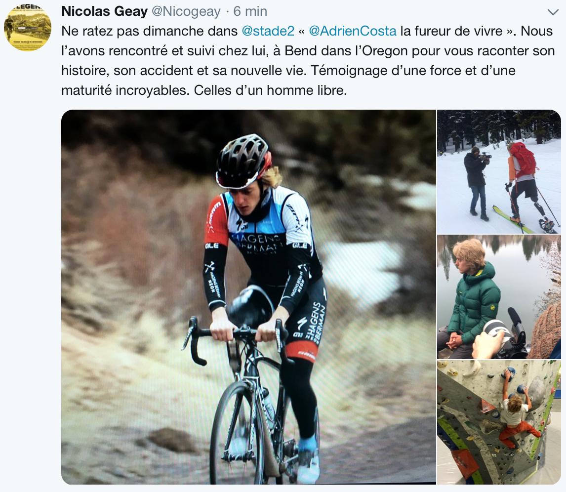 Adrien Costa, une force de la nature