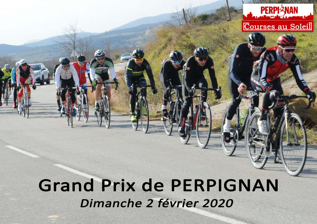 Affiche G.P. Perpignan 2020