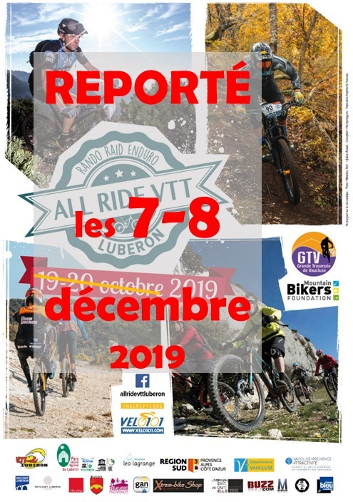 All Ride VTT Luberob reporté