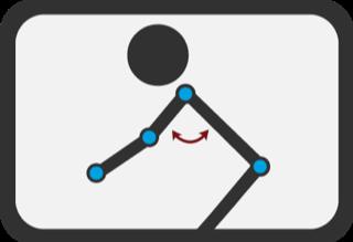 Angle de l'épaule
