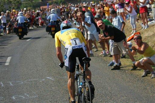 Armstrong Tour de France 2005