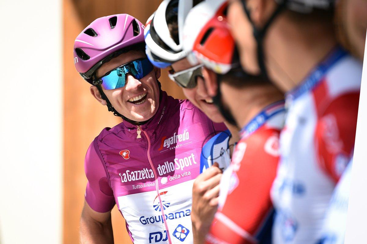Arnaud Démare au départ de l'étape