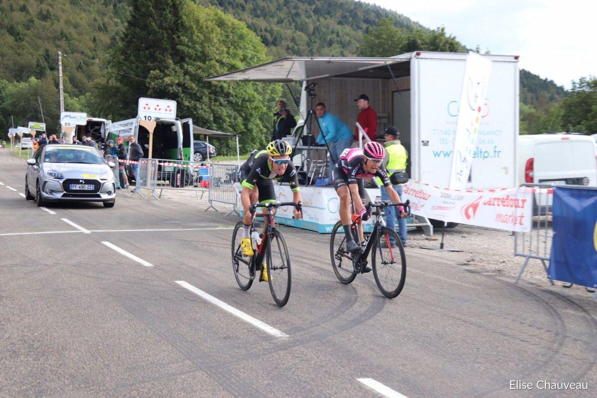 Aurélien Doléatto s'impose au Tour du Pays de Gex-Valserine