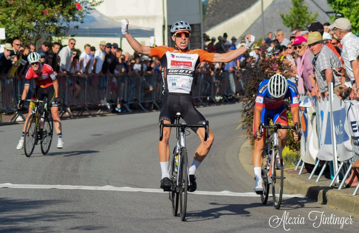 Axel Laurance Champion de Bretagne