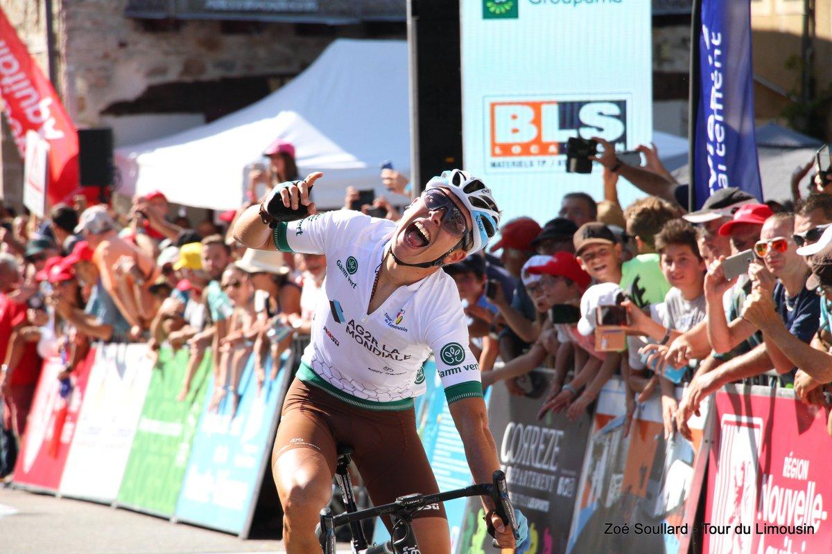 Benoit Cosnefroy vainqueur du Tour du Limousin 2019