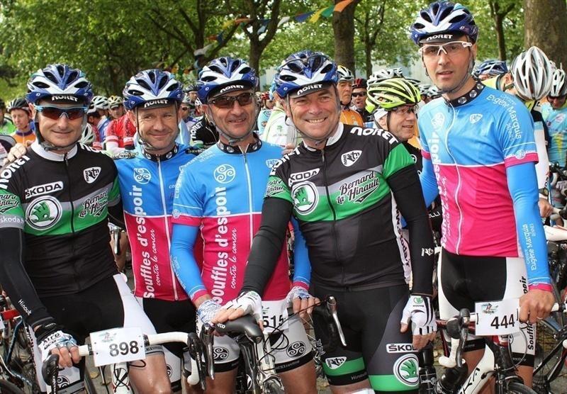 Bernard Hinault sous le maillot de la Team Skoda