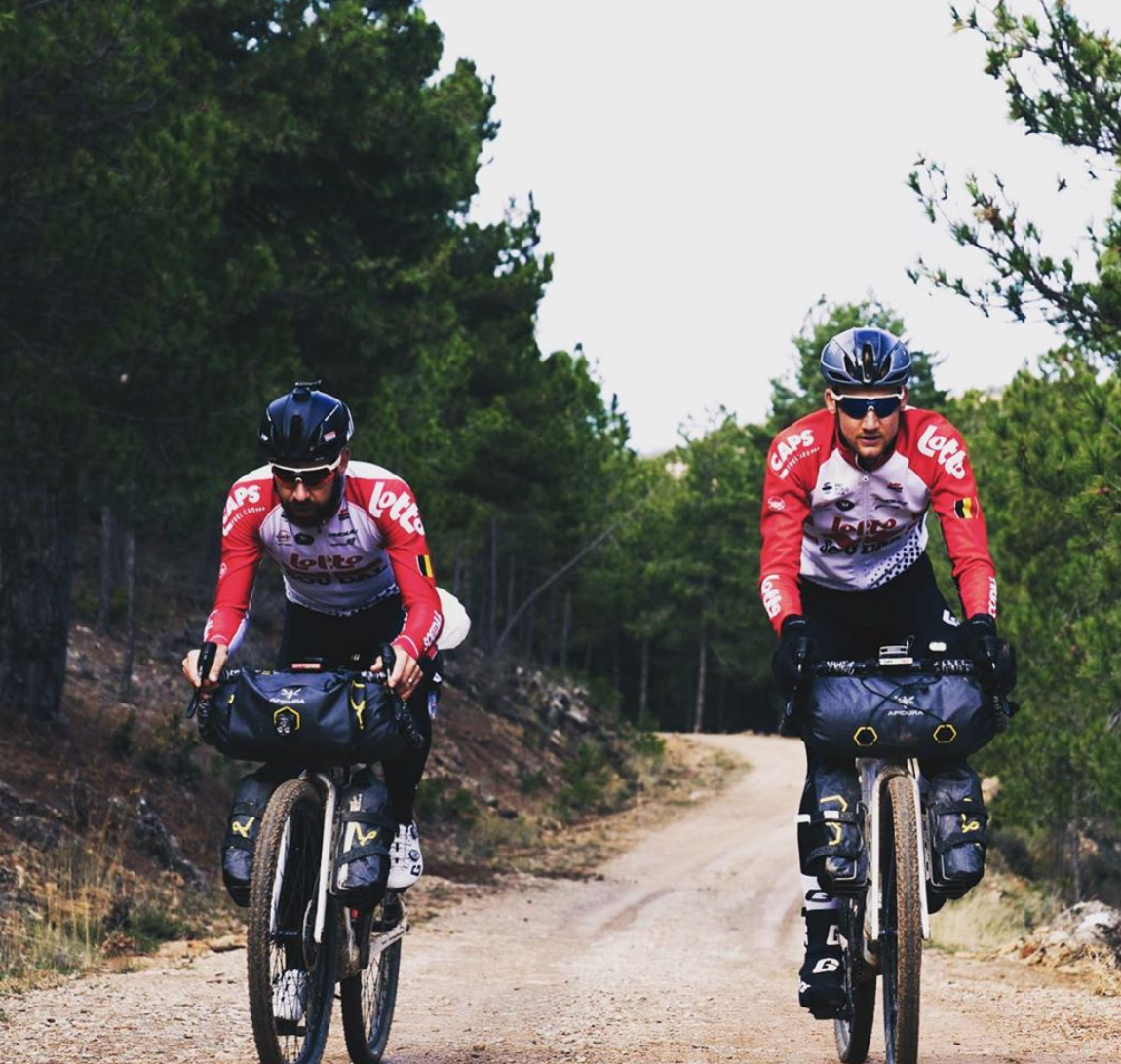 Wellens et De Gendt en biketrip