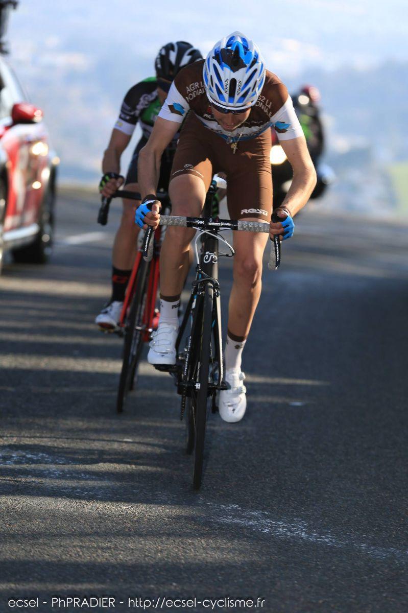Clément Champoussin en course