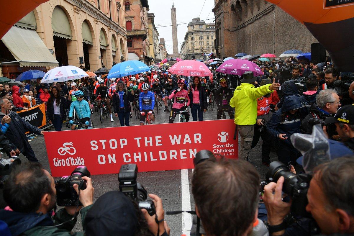 Départ du Giro