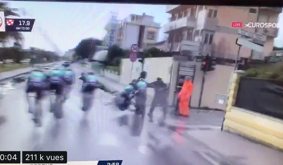Des piétons dangereux en Italie