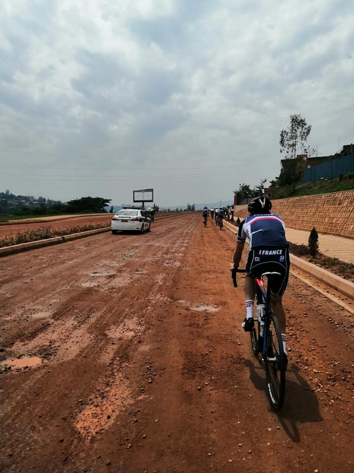 Aurélien Doléatto au Tour du Rwanda #3a