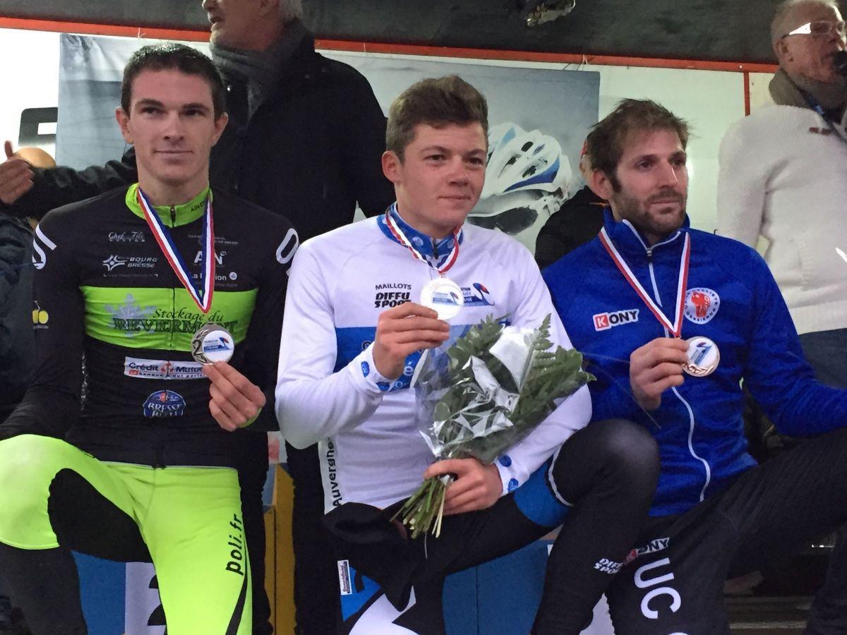 Eddy Finé devient Champion Auvergne Rhône Alpes de cyclo cross