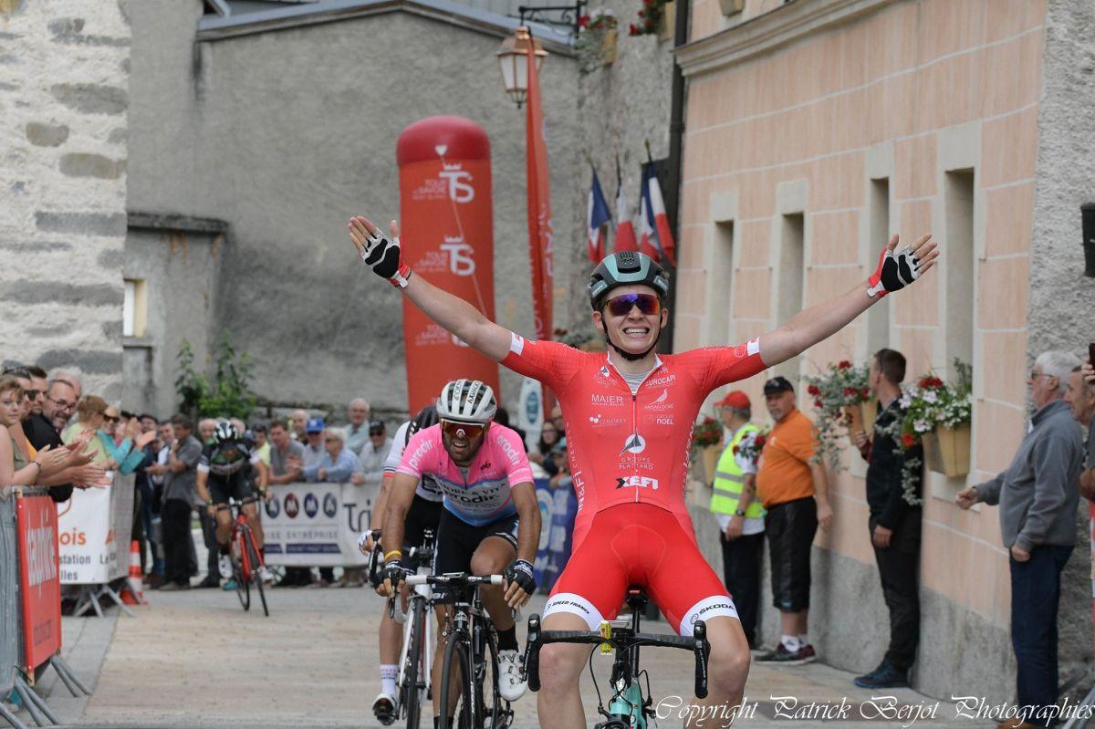 Eddy Finé vainqueur sur le Tour de Savoie Mont-Blanc