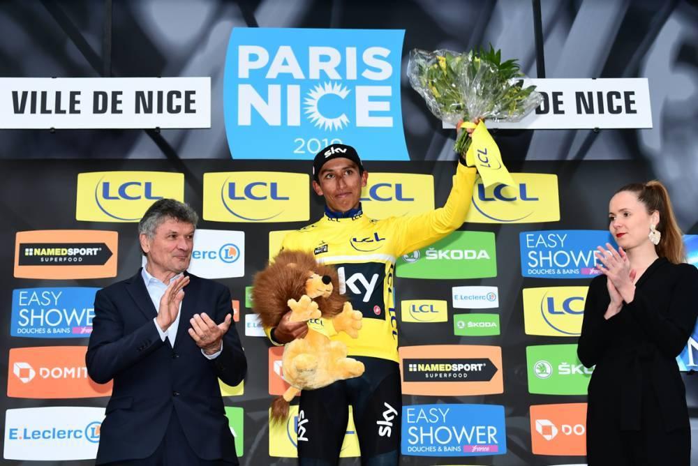 Egan Bernal vainqueur de Paris Nice 2019