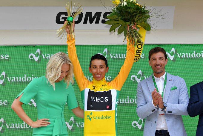 Egan Bernal vainqueur du Tour de Suisse 2019