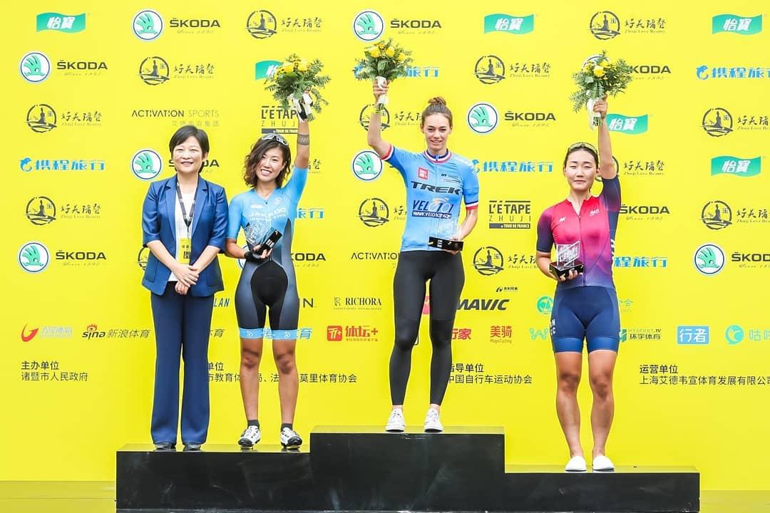 Emilie Rochedy remporte l'Etape Zhuji
