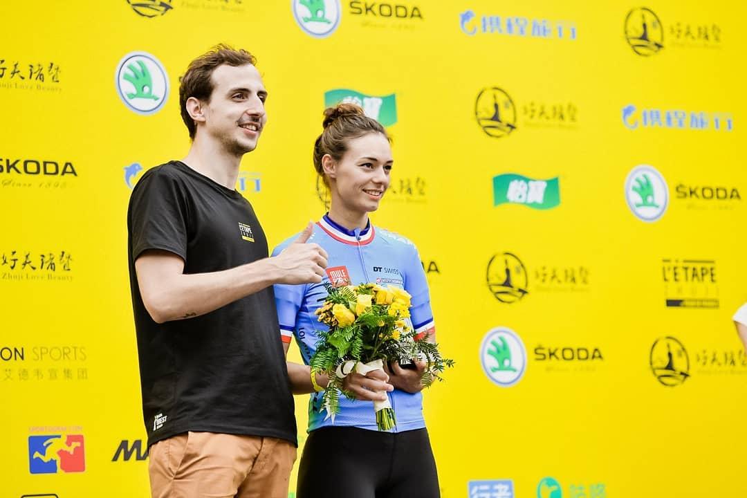 Emilie Rochedy remporte l'Etape Zhuji b