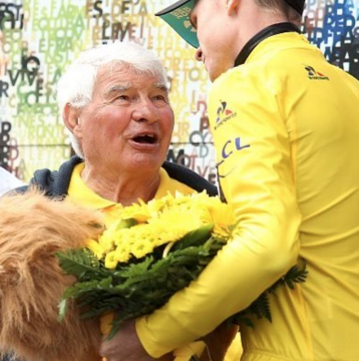 Froome avec Poulidor