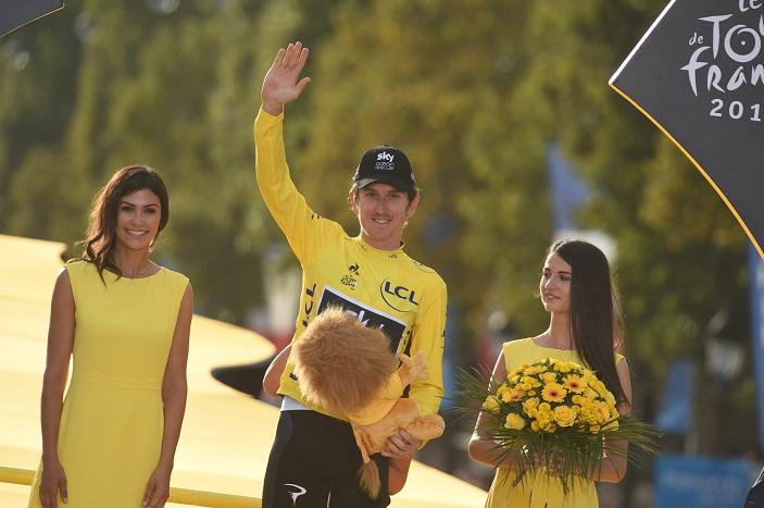 Geraint Thomas pas sur le Giro