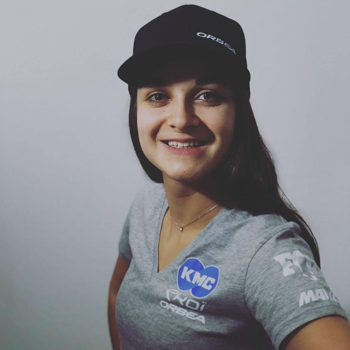 Hélène Clauzel Team KMC EKOI ORBEA
