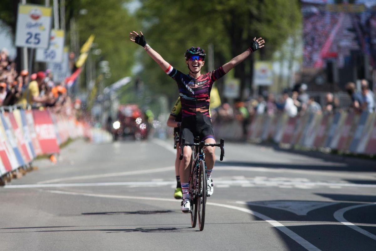 Kasia Niewiadoma remporte l'Amstel