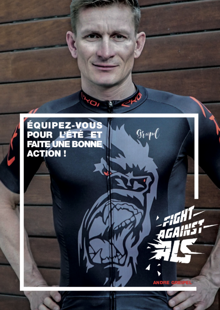 L'action humanitaire d'André Greipel FightAgainstASL