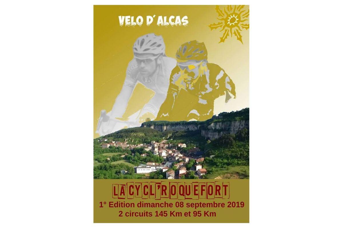 L'affiche de la Cycl'Roquefort 2019