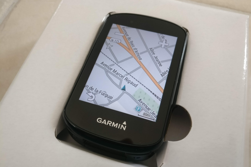 La cartographie Garmin Cycle Map