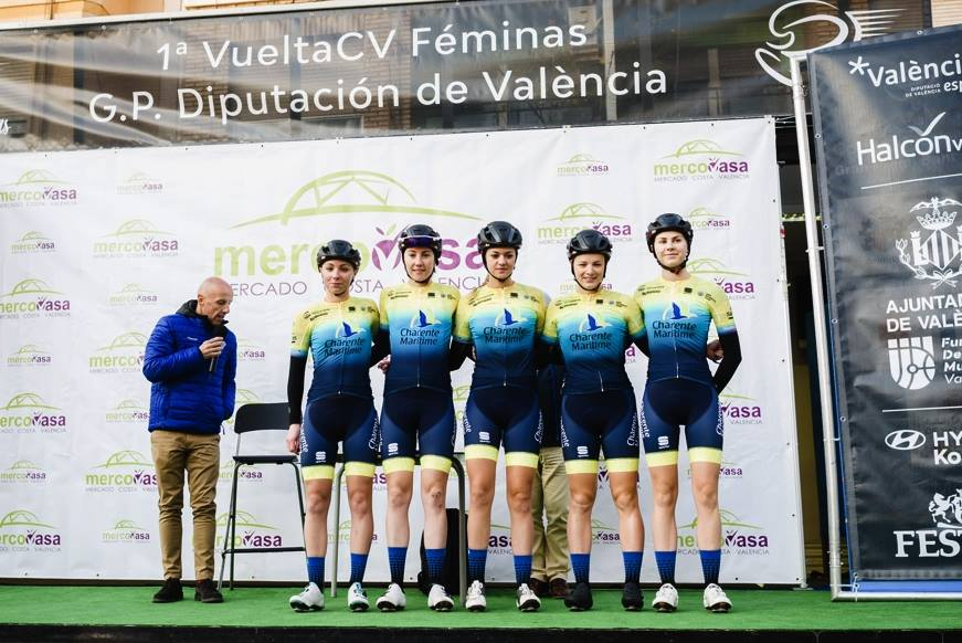 La Charente Maritime Women Cycling en course